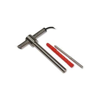 Stainless steel holder for oxygen sensor O2S