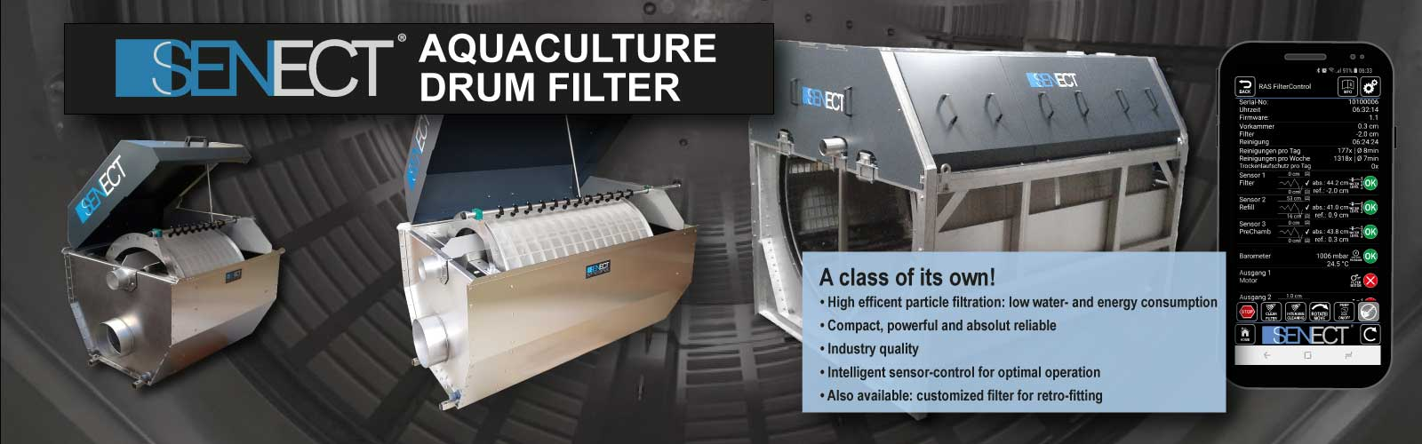 Aquaculture Drum Filters